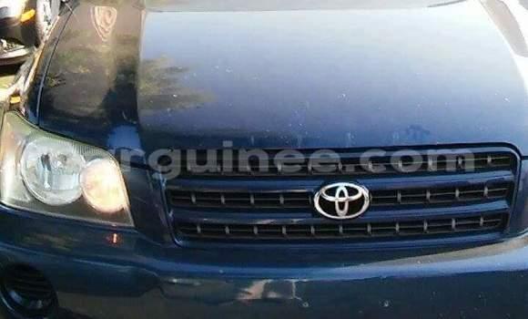 Acheter Voiture Toyota Highlander Bleu à Kaloum en Conakry